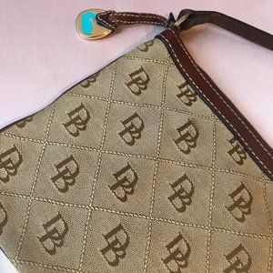 Dooney & Bourke Crossbody Bag with Leather Detail